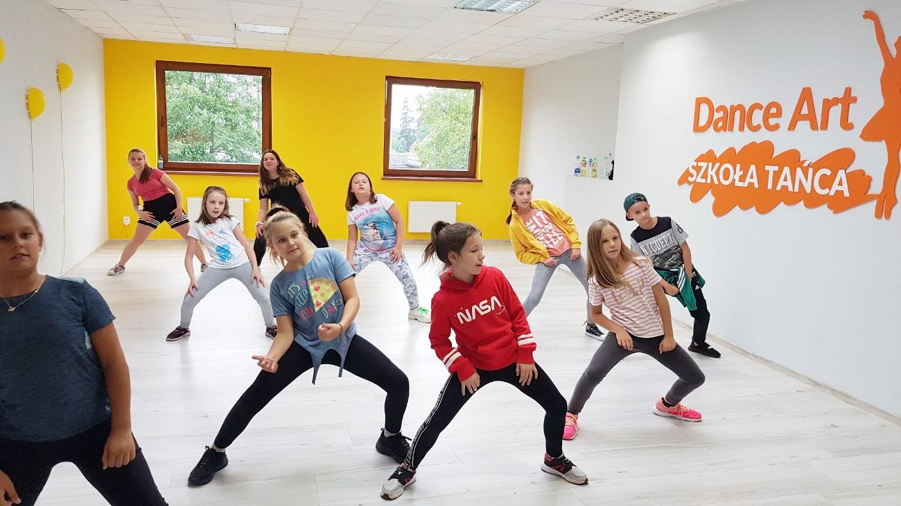 Hip Hop - Forma tańca nowoczesnego dla dzieci 7-11 lat w Zielonej Górze