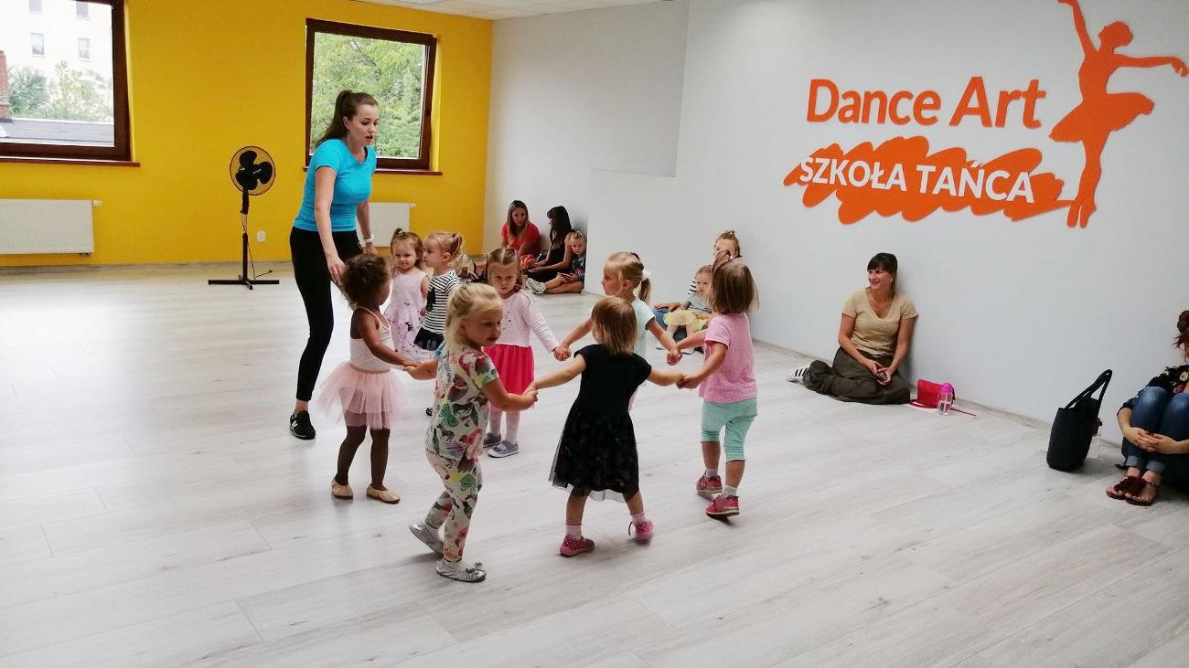 Tańce dla dzieci 2-3 lata w Zielonej Górze