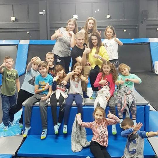 Ferie zimowe w Dance Art - Park trampolin